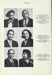 Page 16, 1952 Edition, Carver High School - Memories Yearbook (Winston Salem, NC) online yearbook collection