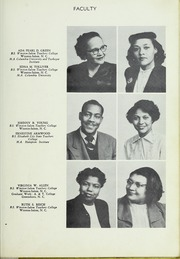 Page 17, 1952 Edition, Carver High School - Memories Yearbook (Winston Salem, NC) online yearbook collection