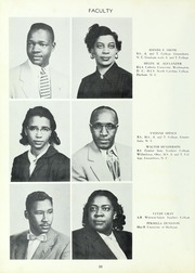 Page 12, 1954 Edition, Carver High School - Memories Yearbook (Winston Salem, NC) online yearbook collection