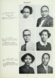 Page 13, 1954 Edition, Carver High School - Memories Yearbook (Winston Salem, NC) online yearbook collection