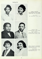 Page 14, 1954 Edition, Carver High School - Memories Yearbook (Winston Salem, NC) online yearbook collection
