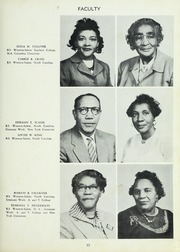 Page 15, 1954 Edition, Carver High School - Memories Yearbook (Winston Salem, NC) online yearbook collection