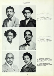 Page 16, 1954 Edition, Carver High School - Memories Yearbook (Winston Salem, NC) online yearbook collection
