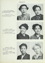 Page 17, 1954 Edition, Carver High School - Memories Yearbook (Winston Salem, NC) online yearbook collection