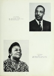 Page 9, 1954 Edition, Carver High School - Memories Yearbook (Winston Salem, NC) online yearbook collection