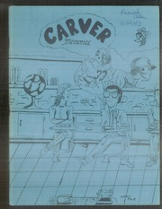 1983 Edition, Carver High School - Memories Yearbook (Winston Salem, NC)