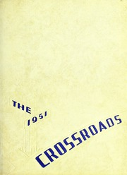 1951 Edition, Albemarle High School - Crossroads Yearbook (Albemarle, NC)