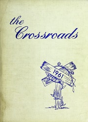 1961 Edition, Albemarle High School - Crossroads Yearbook (Albemarle, NC)