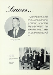 Page 14, 1963 Edition, Albemarle High School - Crossroads Yearbook (Albemarle, NC) online yearbook collection