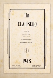 Page 7, 1948 Edition, Clayton High School - Clahischo Yearbook (Clayton, NC) online yearbook collection