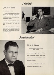 Page 8, 1960 Edition, Clayton High School - Clahischo Yearbook (Clayton, NC) online yearbook collection