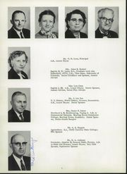 Page 10, 1957 Edition, Foard High School - Quatra Log Yearbook (Newton, NC) online yearbook collection