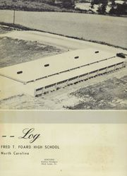 Page 7, 1958 Edition, Foard High School - Quatra Log Yearbook (Newton, NC) online yearbook collection