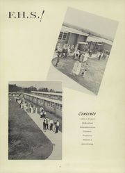 Page 9, 1958 Edition, Foard High School - Quatra Log Yearbook (Newton, NC) online yearbook collection