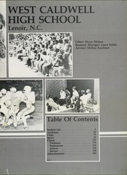 Page 7, 1980 Edition, West Caldwell High School - Warrior Pride Yearbook (Lenoir, NC) online yearbook collection