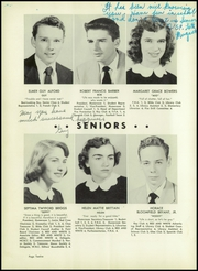 Page 16, 1954 Edition, Hendersonville High School - Laureate Yearbook (Hendersonville, NC) online yearbook collection