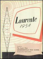 Page 5, 1954 Edition, Hendersonville High School - Laureate Yearbook (Hendersonville, NC) online yearbook collection
