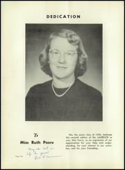 Page 8, 1954 Edition, Hendersonville High School - Laureate Yearbook (Hendersonville, NC) online yearbook collection
