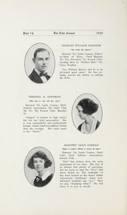 Page 16, 1922 Edition, Salisbury High School - Echo Yearbook (Salisbury, NC) online yearbook collection