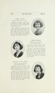 Page 17, 1922 Edition, Salisbury High School - Echo Yearbook (Salisbury, NC) online yearbook collection