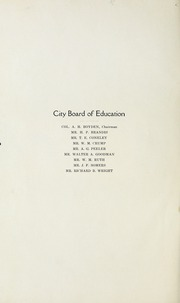 Page 4, 1922 Edition, Salisbury High School - Echo Yearbook (Salisbury, NC) online yearbook collection