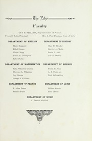 Page 11, 1925 Edition, Salisbury High School - Echo Yearbook (Salisbury, NC) online yearbook collection
