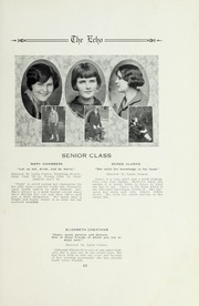 Page 17, 1925 Edition, Salisbury High School - Echo Yearbook (Salisbury, NC) online yearbook collection