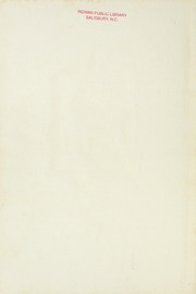 Page 2, 1925 Edition, Salisbury High School - Echo Yearbook (Salisbury, NC) online yearbook collection