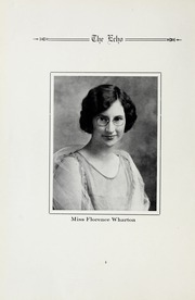Page 8, 1925 Edition, Salisbury High School - Echo Yearbook (Salisbury, NC) online yearbook collection