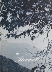 Mount Airy High School - Airmont Yearbook (Mount Airy, NC) online yearbook collection, 1959 Edition, Page 1