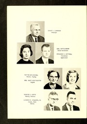 Page 10, 1961 Edition, Zeb Vance High School - Echo Yearbook (Kittrell, NC) online yearbook collection