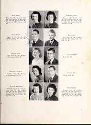 Page 11, 1940 Edition, Lexington High School - Lexicon Yearbook (Lexington, NC) online yearbook collection