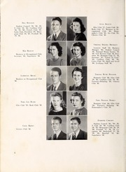 Page 12, 1940 Edition, Lexington High School - Lexicon Yearbook (Lexington, NC) online yearbook collection