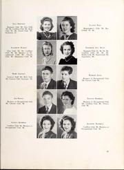 Page 17, 1940 Edition, Lexington High School - Lexicon Yearbook (Lexington, NC) online yearbook collection