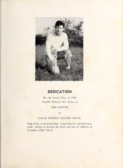 Page 7, 1940 Edition, Lexington High School - Lexicon Yearbook (Lexington, NC) online yearbook collection