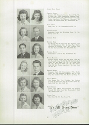 Page 12, 1944 Edition, Lexington High School - Lexicon Yearbook (Lexington, NC) online yearbook collection