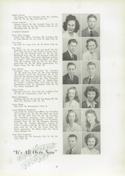 Page 13, 1944 Edition, Lexington High School - Lexicon Yearbook (Lexington, NC) online yearbook collection