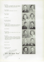 Page 15, 1944 Edition, Lexington High School - Lexicon Yearbook (Lexington, NC) online yearbook collection