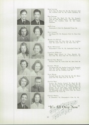 Page 16, 1944 Edition, Lexington High School - Lexicon Yearbook (Lexington, NC) online yearbook collection