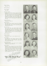 Page 17, 1944 Edition, Lexington High School - Lexicon Yearbook (Lexington, NC) online yearbook collection
