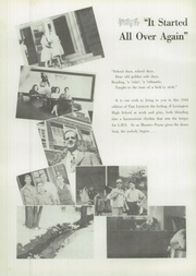Page 8, 1944 Edition, Lexington High School - Lexicon Yearbook (Lexington, NC) online yearbook collection