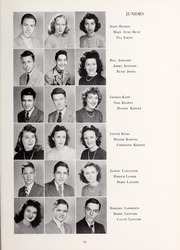 Page 15, 1946 Edition, Lexington High School - Lexicon Yearbook (Lexington, NC) online yearbook collection