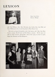 Page 7, 1946 Edition, Lexington High School - Lexicon Yearbook (Lexington, NC) online yearbook collection