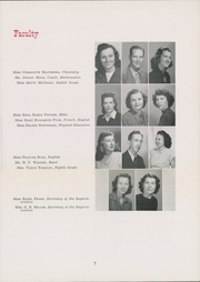 Page 11, 1949 Edition, Lexington High School - Lexicon Yearbook (Lexington, NC) online yearbook collection