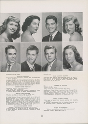 Page 17, 1949 Edition, Lexington High School - Lexicon Yearbook (Lexington, NC) online yearbook collection