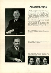 Page 10, 1952 Edition, Lexington High School - Lexicon Yearbook (Lexington, NC) online yearbook collection