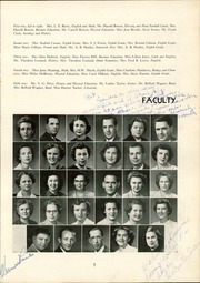 Page 11, 1952 Edition, Lexington High School - Lexicon Yearbook (Lexington, NC) online yearbook collection