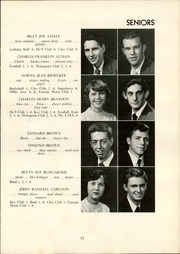 Page 15, 1952 Edition, Lexington High School - Lexicon Yearbook (Lexington, NC) online yearbook collection