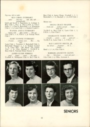 Page 17, 1952 Edition, Lexington High School - Lexicon Yearbook (Lexington, NC) online yearbook collection