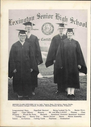 Page 14, 1957 Edition, Lexington High School - Lexicon Yearbook (Lexington, NC) online yearbook collection